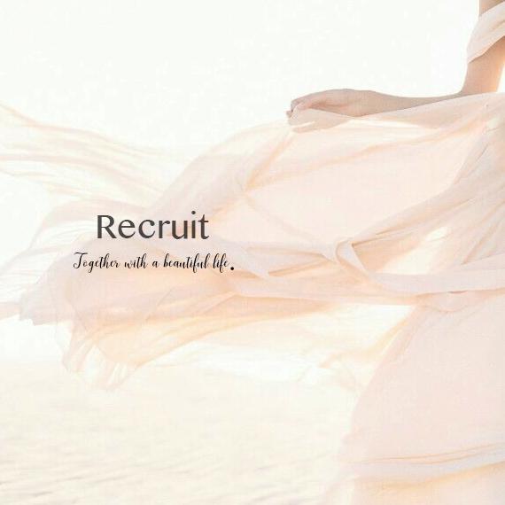 RECRUIT 〜 New Staff募集&会社説明会随時開催〜